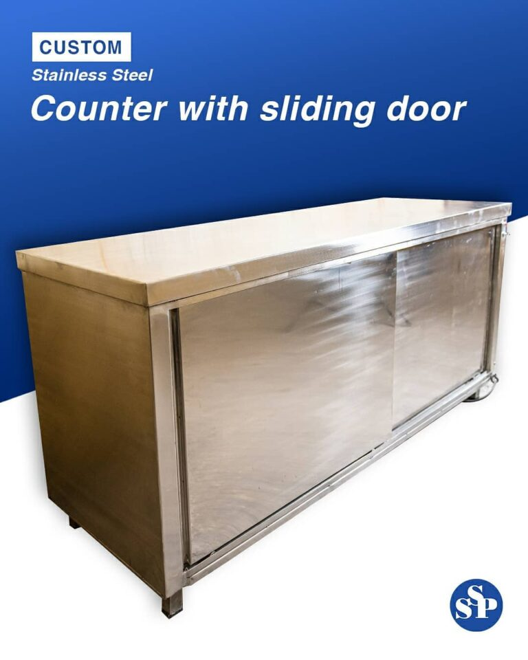 Custom made Stainless steel counter