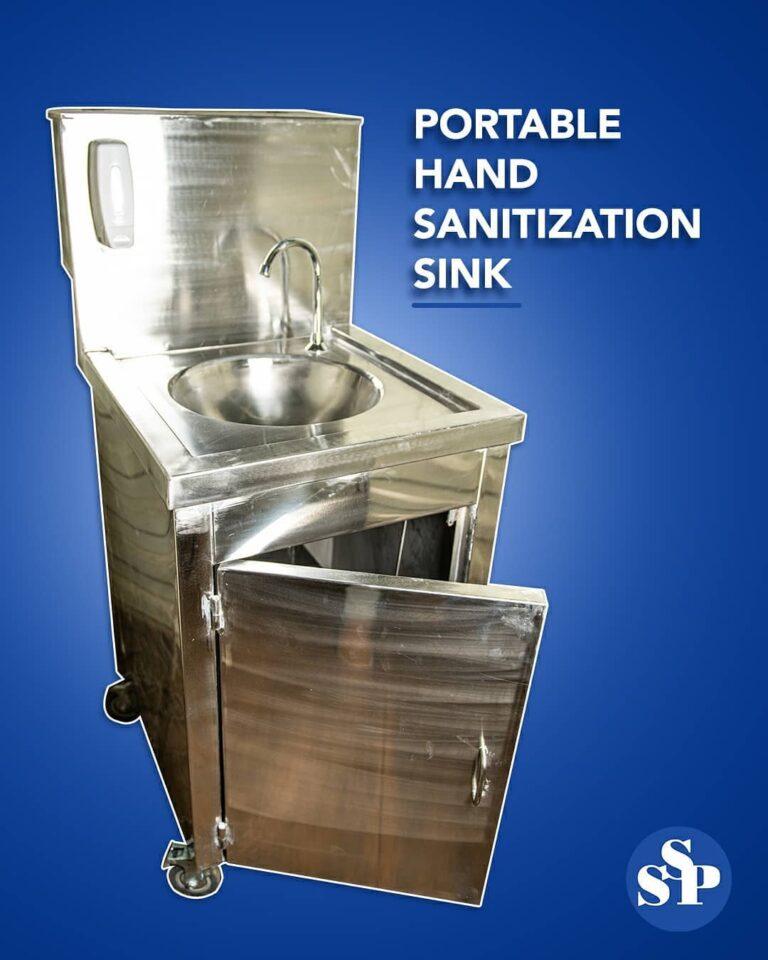 Stainless Steel Hand Sanitization Sink