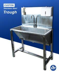 hand washing trough