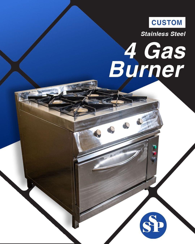 4 gas burner
